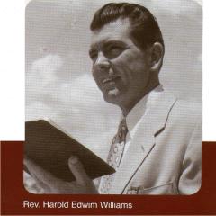 Rev. Harold Edwim Williams